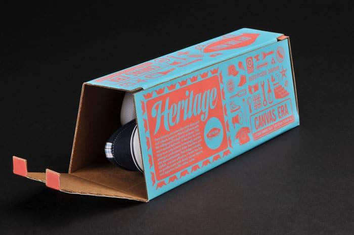 Shoe packaging by Vans