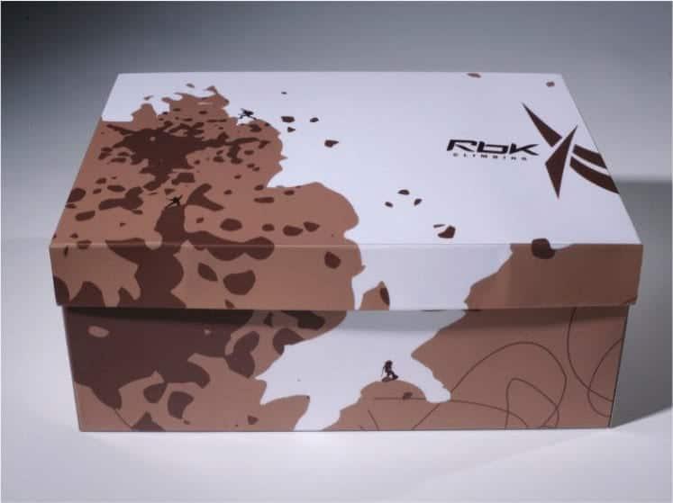 Reebok shoe box