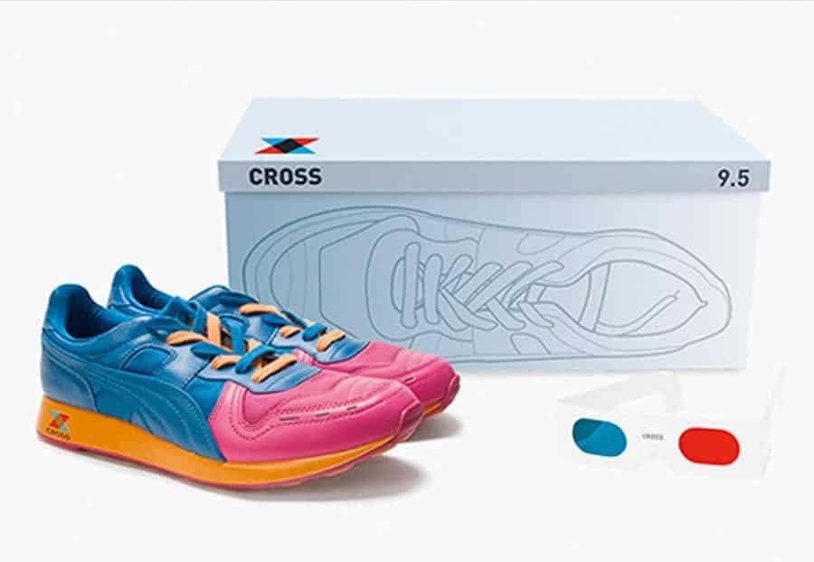 Shoe packaging by Cross