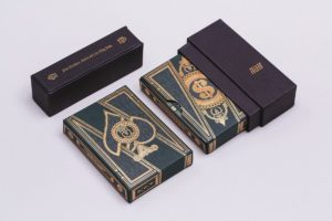 Packaging design: 10 playing card boxes