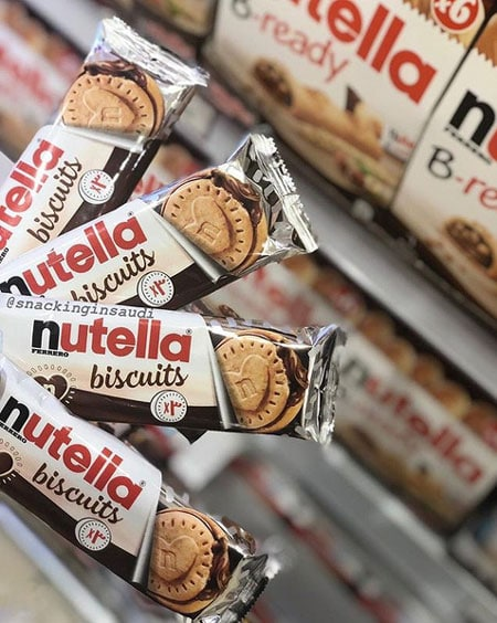 Confezione a pacchetto Nutella Biscuits