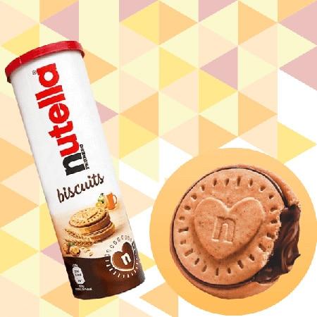 Confezione a tubo Nutella Biscuits