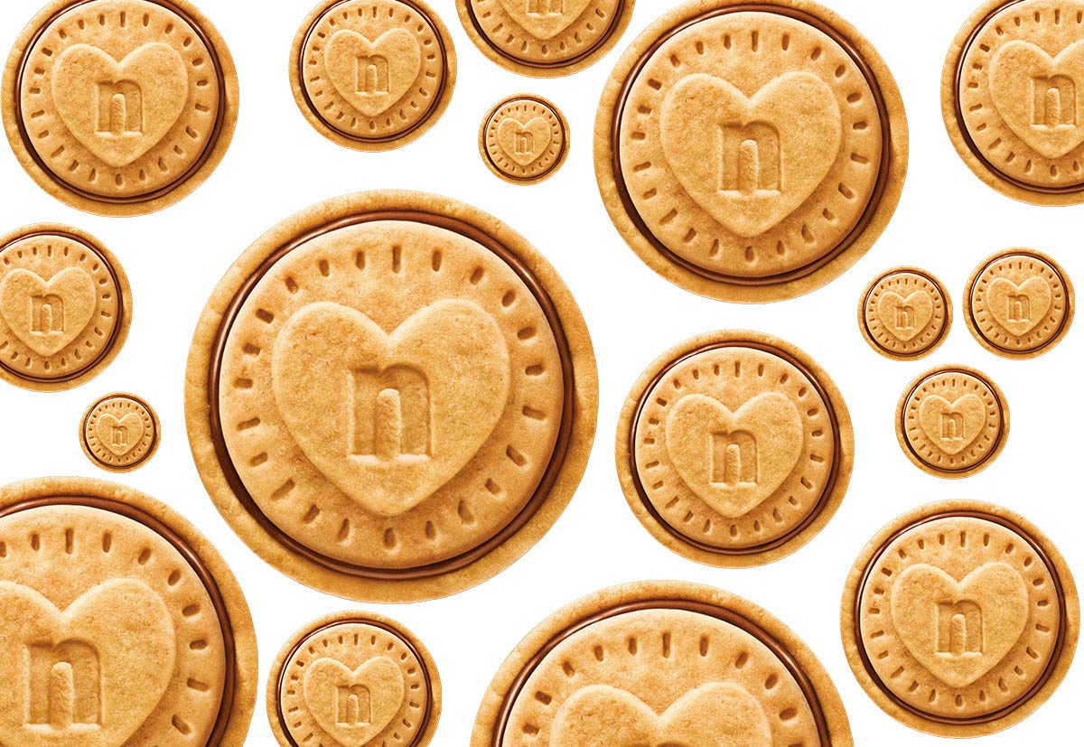 Il successo dei Nutella biscuits