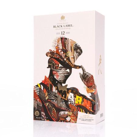 Johnny Walker packaging speciale by Tristan Eaton