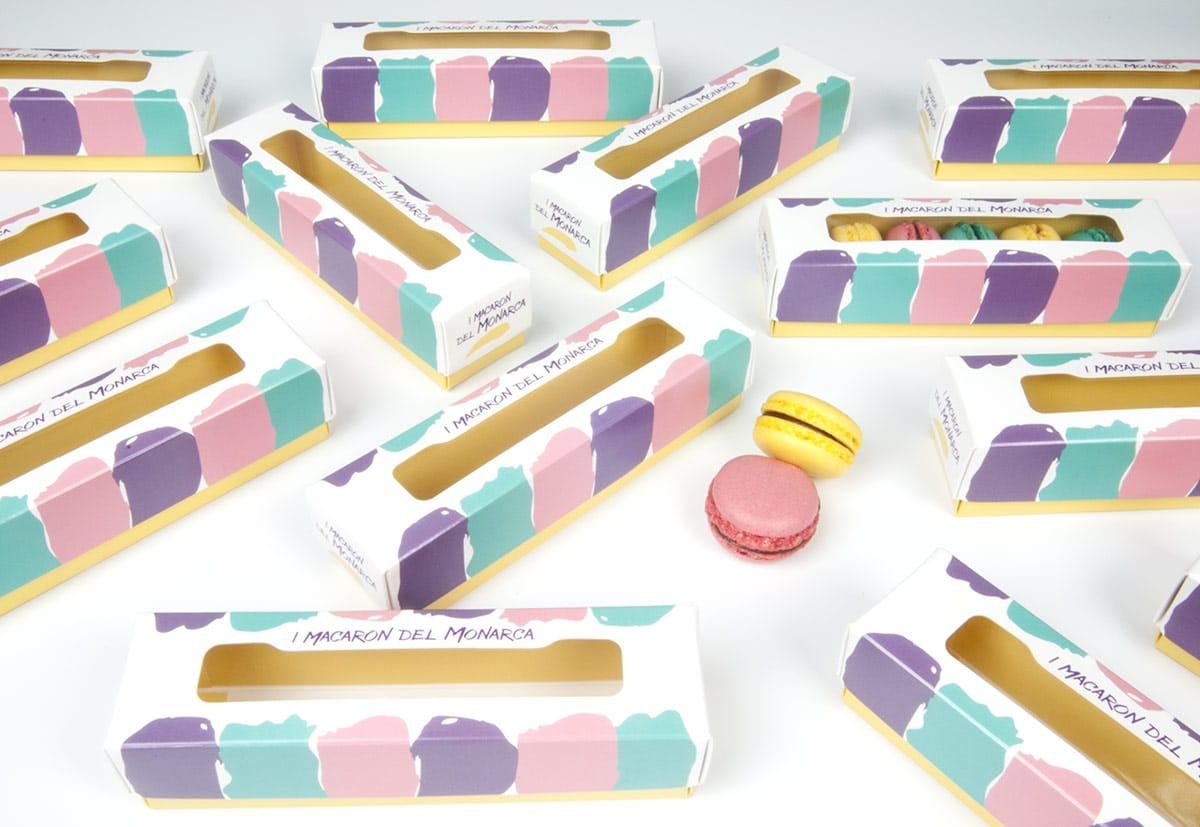 Scatole personalizzate per macarons