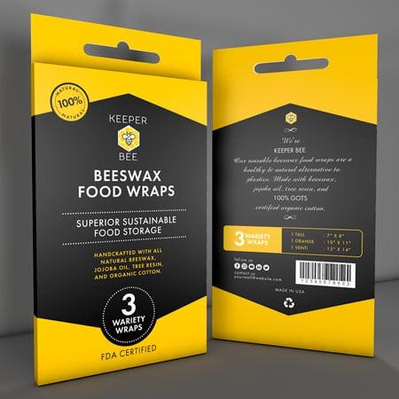 Packaging giallo per pellicola alimentare