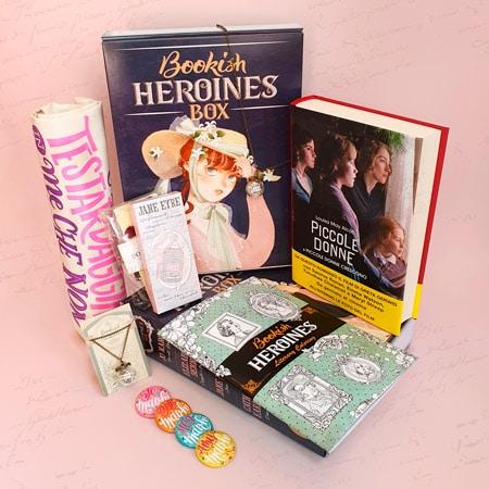 Re-Belle box dedicata alle eroine della letteratura