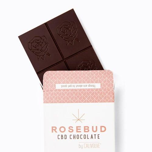 Astuccio per cioccolata alla rosa con cannabis light