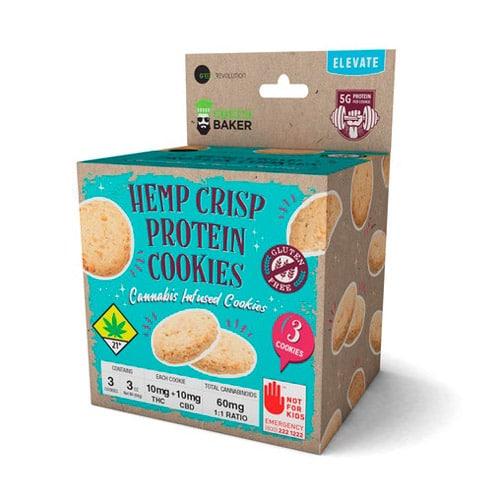 Scatola appendibile per biscotti alla canapa