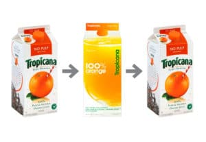 Tropicana restyling: 5 mistakes to avoid in packaging