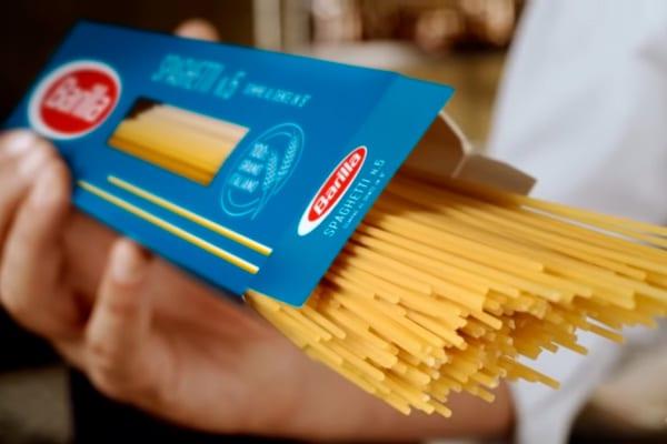 Nuovo packaging spaghetti classici Barilla