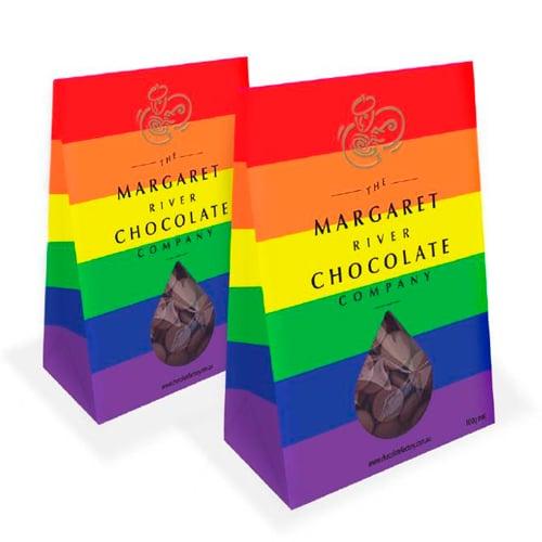 Cioccolatini in edizione Pride