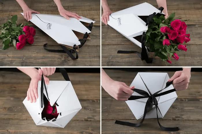 Elegant Valentine's Day Packaging