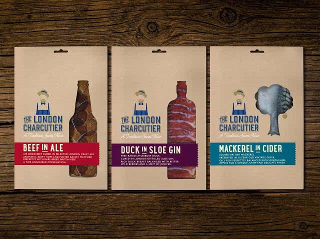 The London Charcutier Custom Packaging