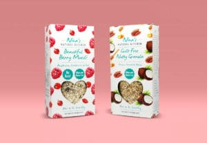 Packaging for granola: focus on ingredients and taste
