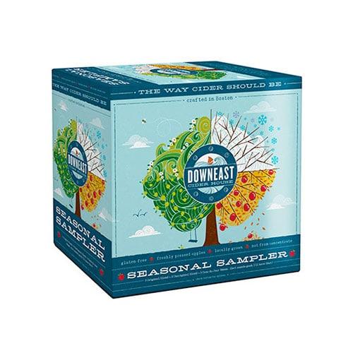 Seasonal sampler for cider