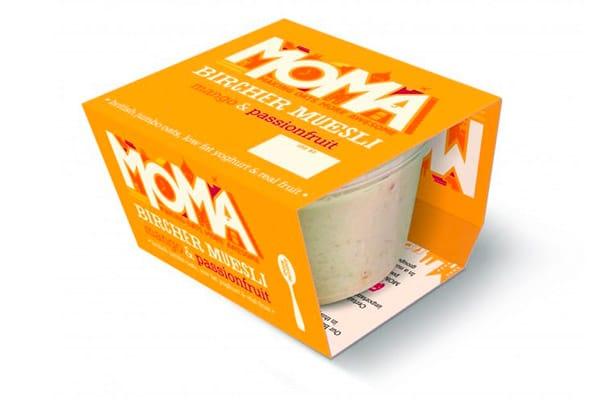 Fascetta in cartoncino per granola monoporzione