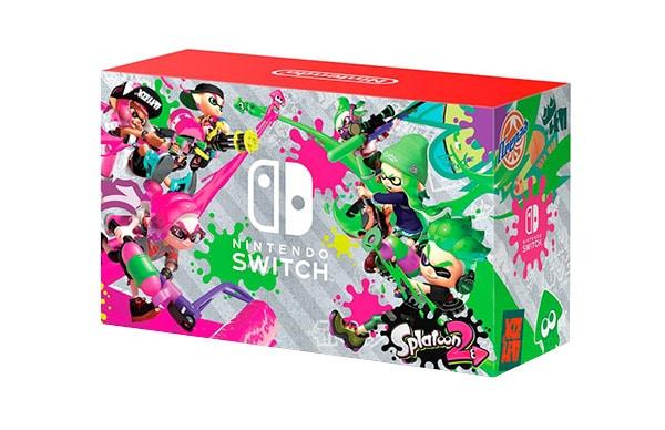 Nintendo Switch in confezione fluo