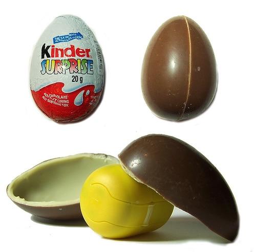 Multi-sensory Packaging for Kinder Surprise Eggs