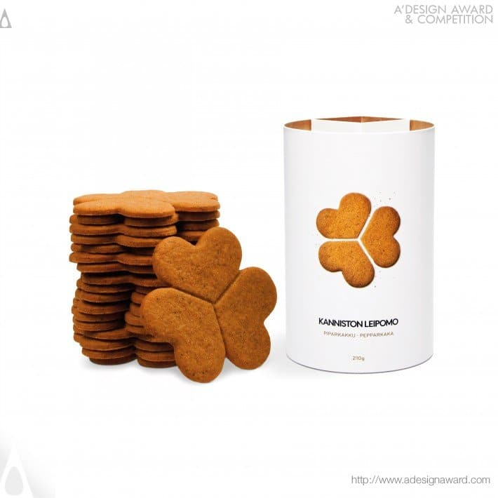 Minimalist Packaging for Lucky Cookies