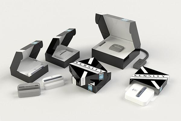 Set di valigette e astucci piccoli per sensori