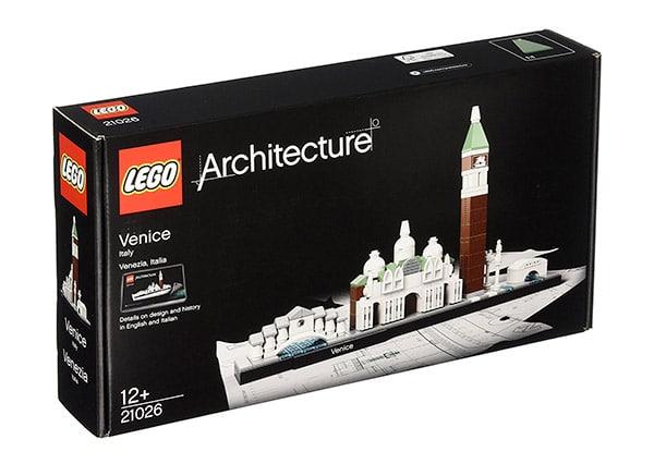 Scatola a valigetta per Lego Architettura: Venezia