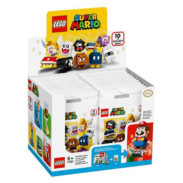 Scatola espositore per minifigure Lego Super Mario