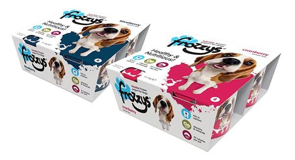 Cardboard sleeve for yogurt snack