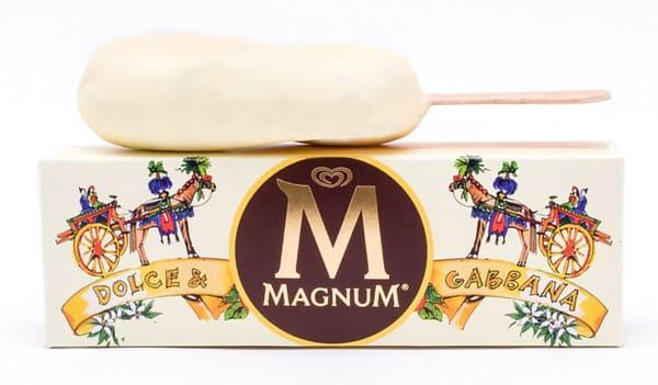 Magnum Bianco edizione Dolce & Gabbana