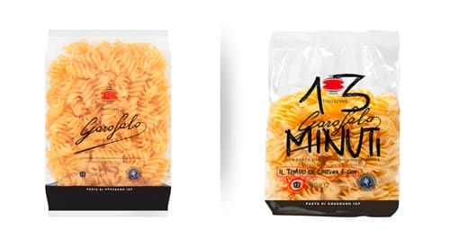 Pasta Garofalo limited edition with large cooking minutes