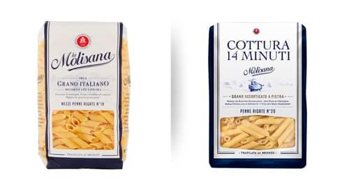 Enhance cooking time display on pasta La Molisana boxes