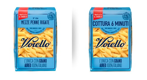 Revised Voiello package with bigger cooking time