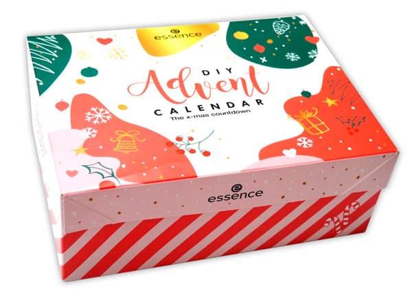Beauty products advent calendar