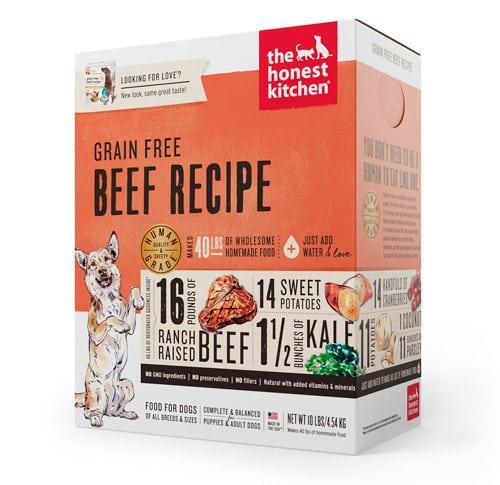 Scatola di cibo per cani Honest Kitchen