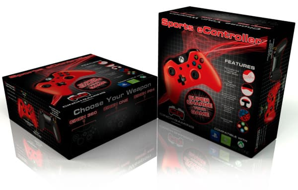 X-box controller box