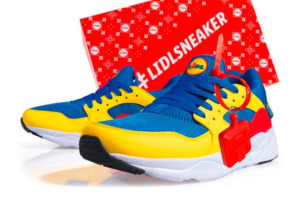 Lidl sneakers: from commodity to love brand