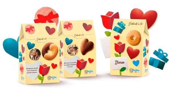 Packaging personalizzato Mulino Bianco per San Valentino