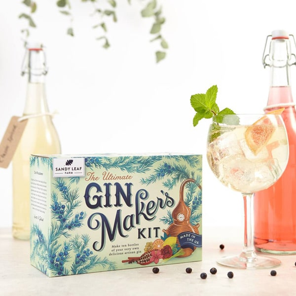 Packaging for gin-based cocktails made in the UK