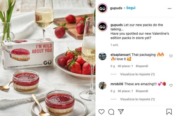 Campagna social media con influencer Gü