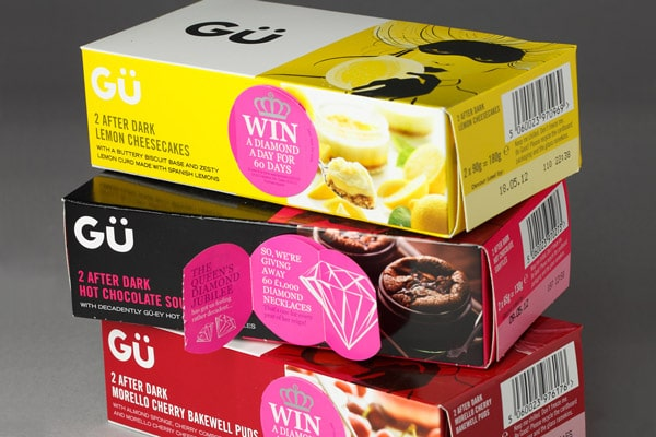 Special packaging with cutout to sustain marketing campaign