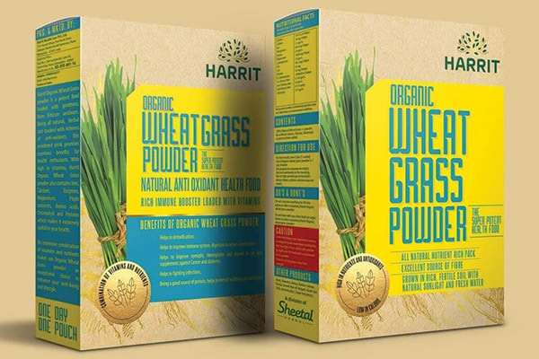 Perfect better for food supplement packaging