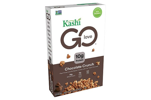 Confezioni per cereali al cioccolato biologici