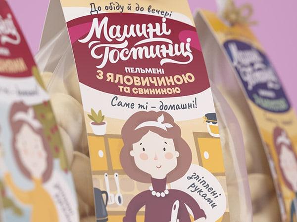 Packaging con fascetta per confezione di pasta