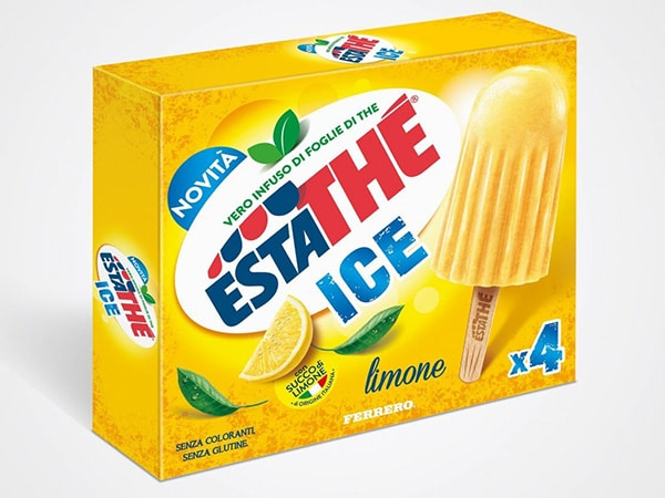 New Estathé Ice packaging