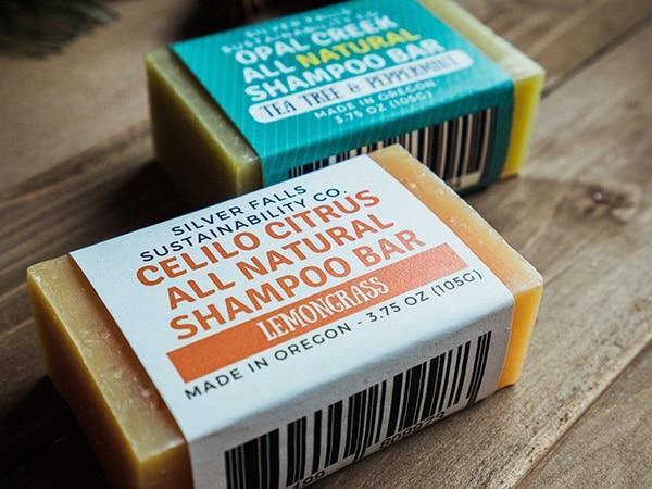 Fascetta in cartoncino per sapone solido