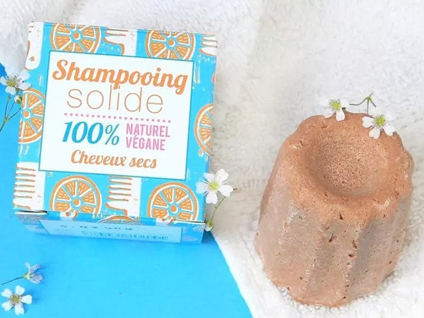 Astuccio lineare per shampoo solido vegano