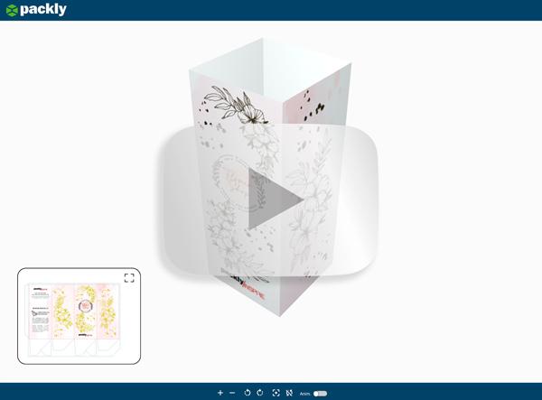 Anteprima 3D del contenitore