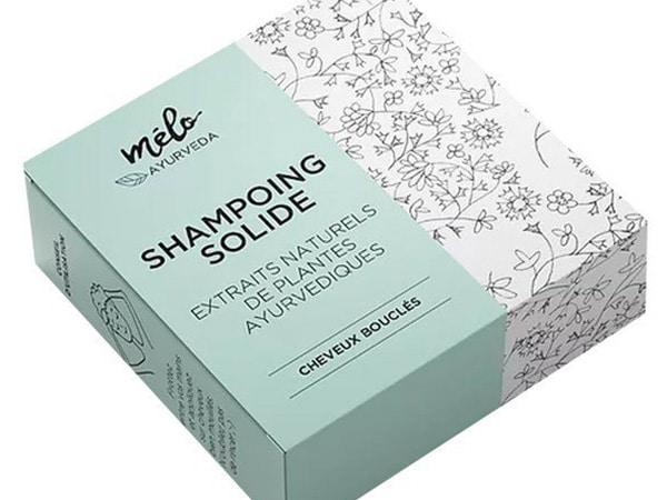 Slim tuck end box for solid shampoo