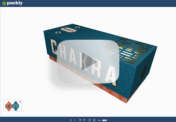 Anteprima 3D del packaging vincente