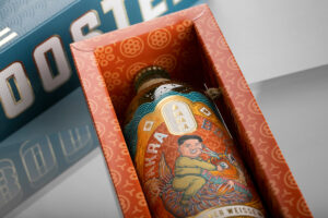 Award winning packaging: Packly's box for Chakra Booster